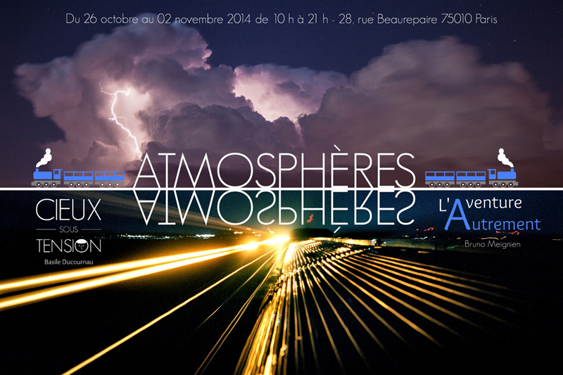 Expo Photo ATMOSPHERES - Paris Beaurepaire 2014